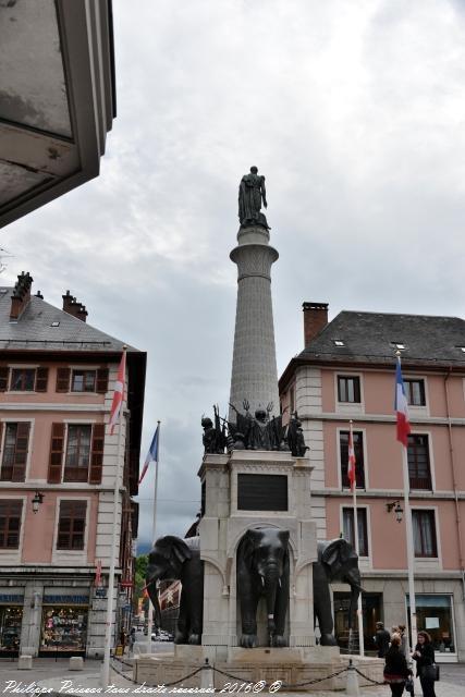 La Fontaine des Éléphants Chambéry