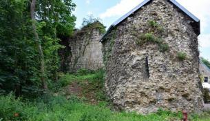 Porte de l'étang de Saint Vérain