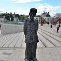 Le Chinois de Montargis - Sculpture de Li Xiacchao