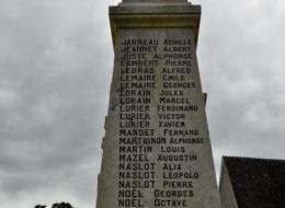 Le monument aux morts de Colmery