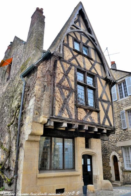 Maison à colombages de Nevers