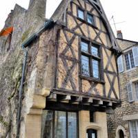 Maison à colombages de Nevers
