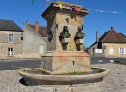 Fontaine de Cercy la Tour
