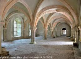 Abbaye de Fontenay la Salle Capitulaire