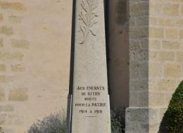 Monument aux Morts de Bitry