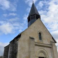 Intérieur de l'église de Pazy - Église Saint-Prix