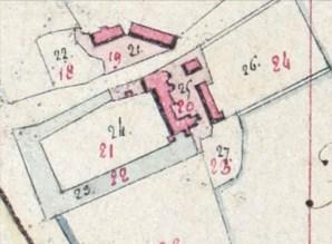 Plan du château de saint hilaire fontaine