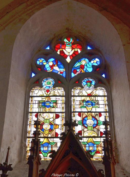 Vitraux de Saint Saulge