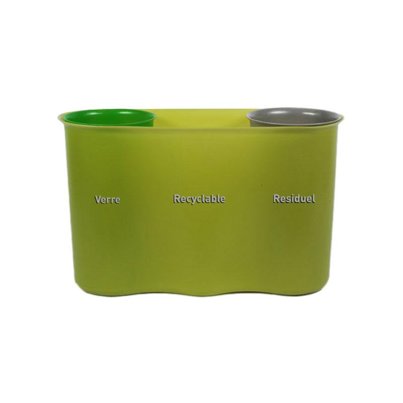 Sélectibox est une gamme de poubelles de tri sélectif