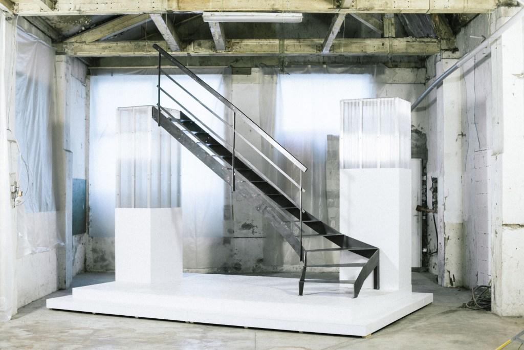 escaliers design en acier à monter soi-même