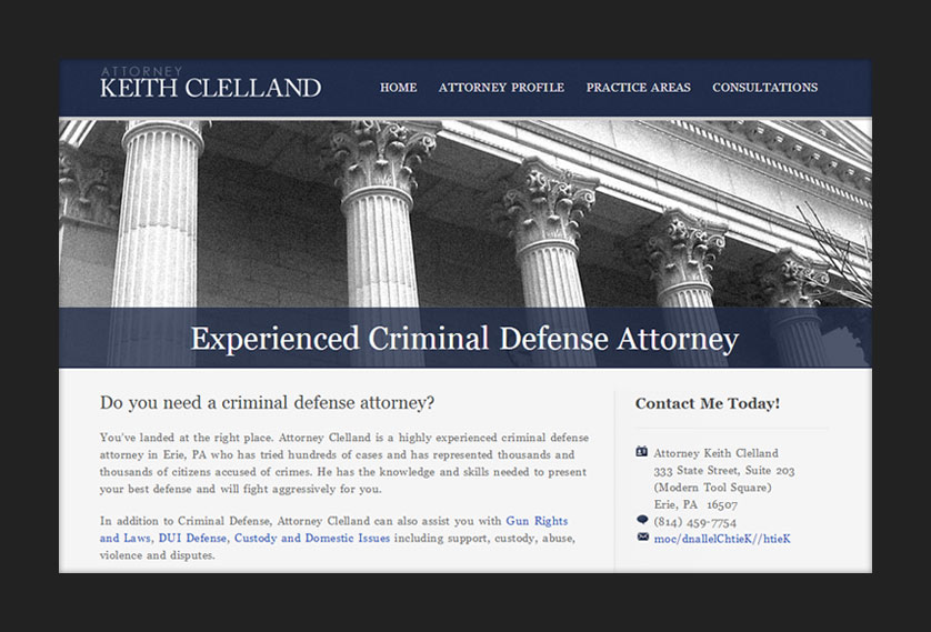 Attorney Keith Clelland