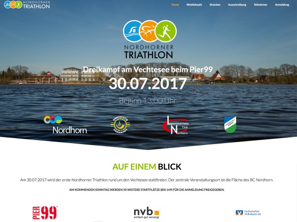 Nordhorner Triathlon Website