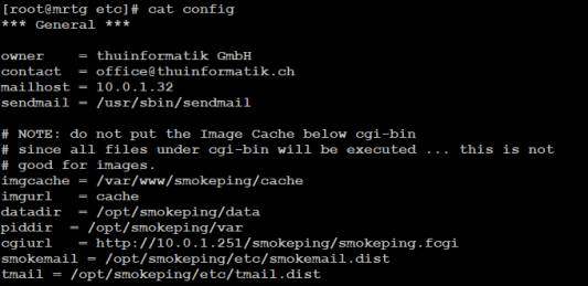 How to install SmokePing on CentOS 7 – web-workers ch