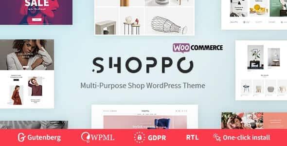 šablóna pre wordpress Shoppo