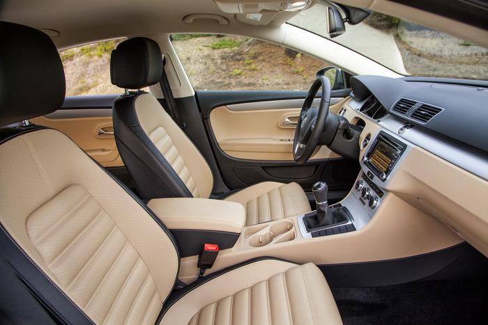 2012 Volkswagen Cc Sport Interior