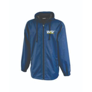 Pennant Full Zip Unisex rain jacket