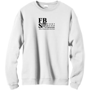 FBS Logo - White Fleece