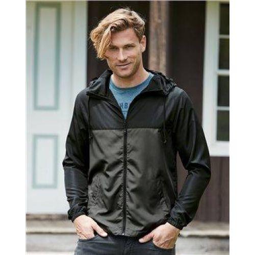 Light Weight Windbreaker Zip Jacket
