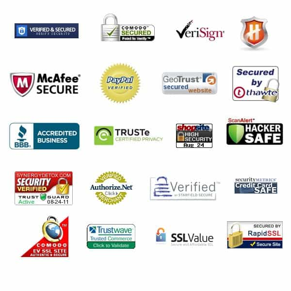 trust badges online