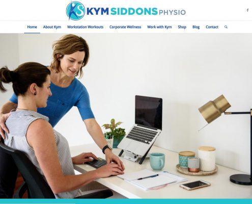 Website Design - Kym Siddons Physio