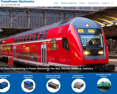 Website Design - Transpower Electronics