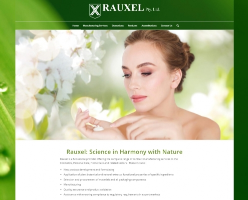 Website Design - Rauxel