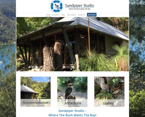 Website Design - Sandpiper Studio
