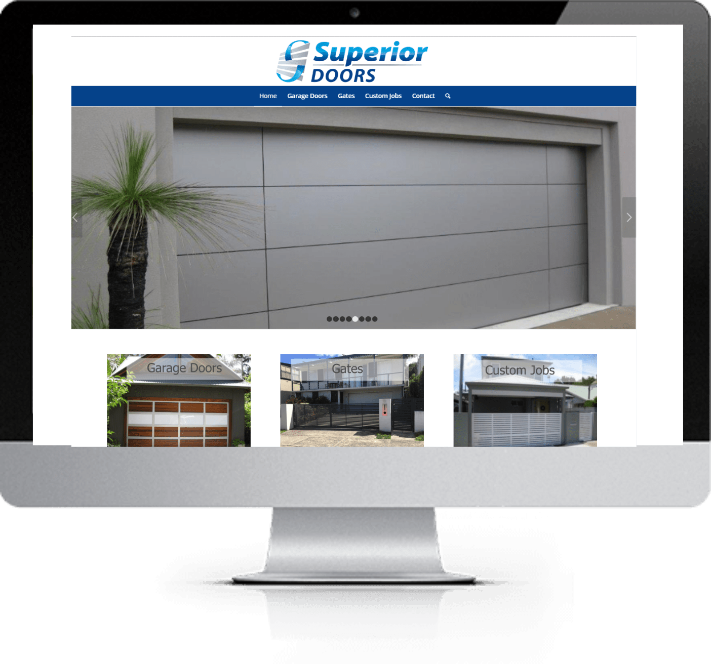 Website Redesign - Superior Doors - After