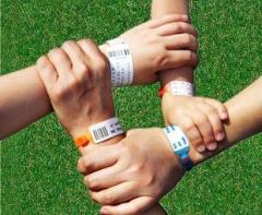 [證帶專家]PVC一次性手環,黏貼後欲取下僅能破壞,價格等資訊,可彩色印刷,杜邦紙-百葳國際有限公司 / 臺灣黃頁詢價平臺