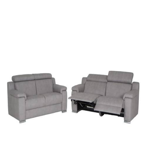 Zetel Panini 32zit grijs stof 5 grijs  WEBA meubelen