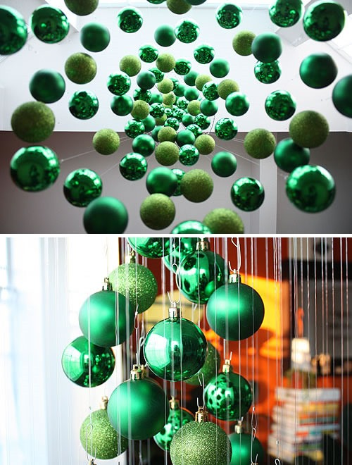 25 increibles  adornos de navidad hechos a mano - arbol de navidad colgante