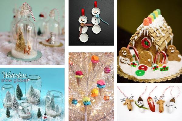 25 increibles  adornos de navidad hechos a mano - portada