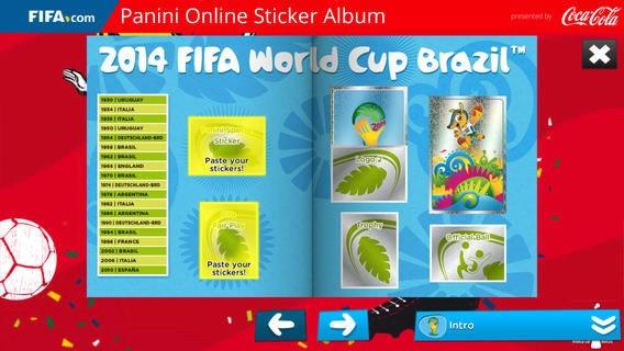 album cromos copa mundial fifa brasil 2014 panini - 02