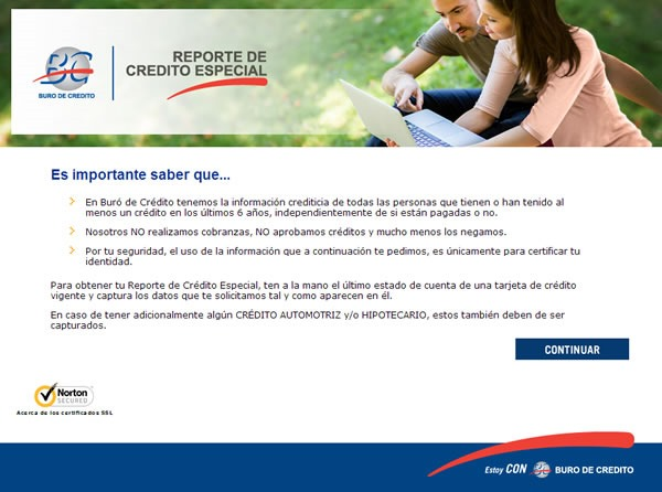 buro de credito como obterner reporte de credito especial