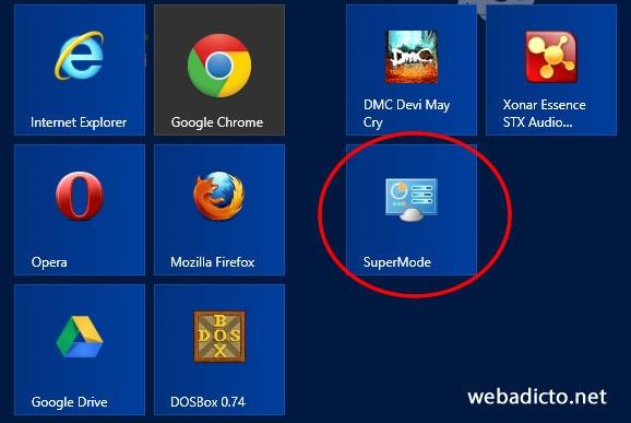 como-activar-supermode-windows-8