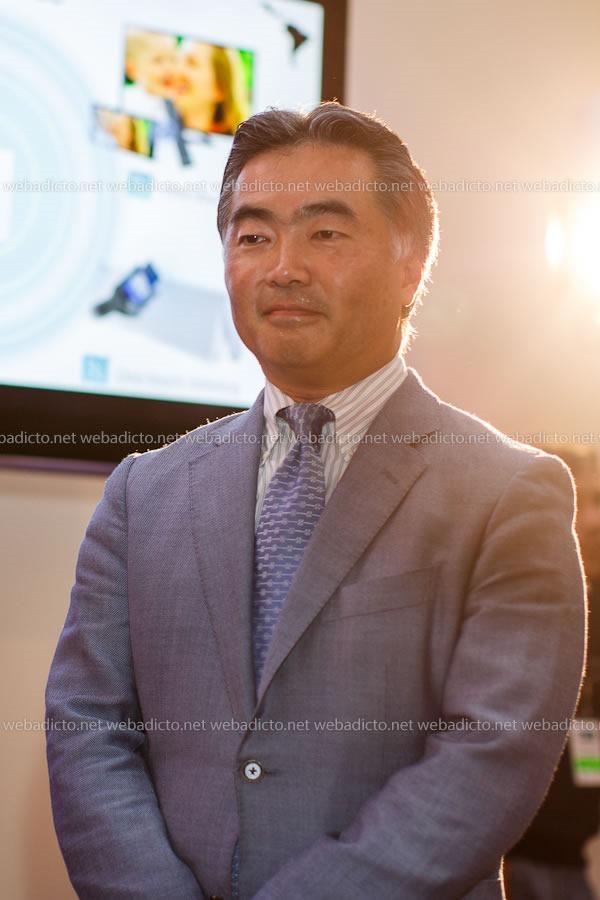 Hiroshi Sakamoto, Presidente de Sony Latinoamérica