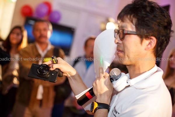 Taku Taguchi, Director Comercial de Sony Perú