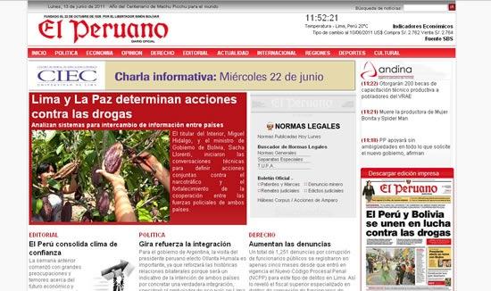 periodicos-peruanos-online-el-peruano