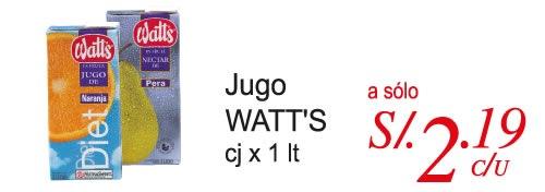 plaza-vea-oferta-marzo-2011-jugo-watts