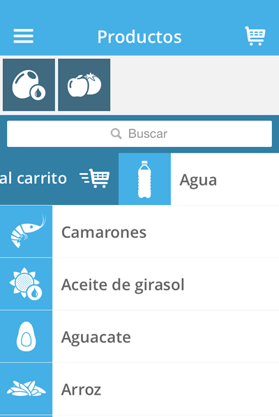 shopit app agregar producto