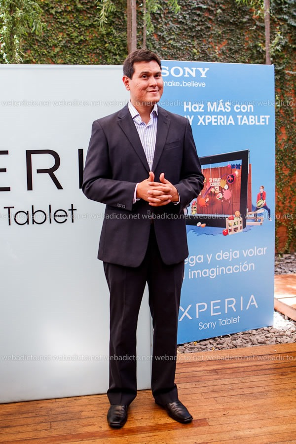 Samuel Morales, Marketing Communications and Trademarketing Manager de Sony Perú