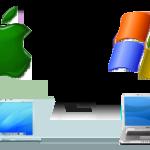 Funny Infographic – MAC User vs PC User
