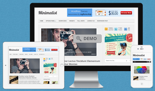 Minimalist Premium WordPress Theme Giveaway