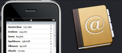 iPhone contact management software