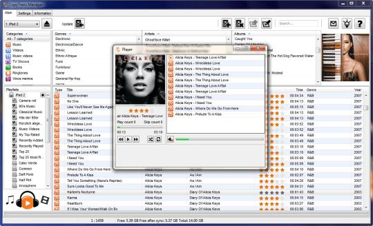 CopyTrans Manager Apple iTunes alternative