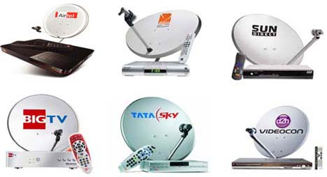 DTH services comparison in India