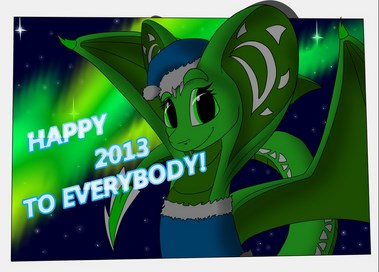 happy next year for everybody by flay667