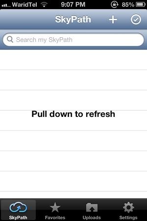 Skypath Upload Images