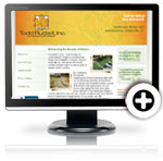 Todd Rudisill landscape and design launches redesigned website