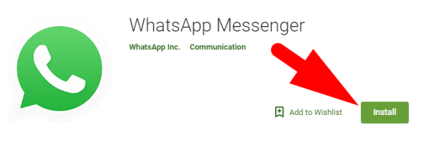 Whatsapp app for Android
